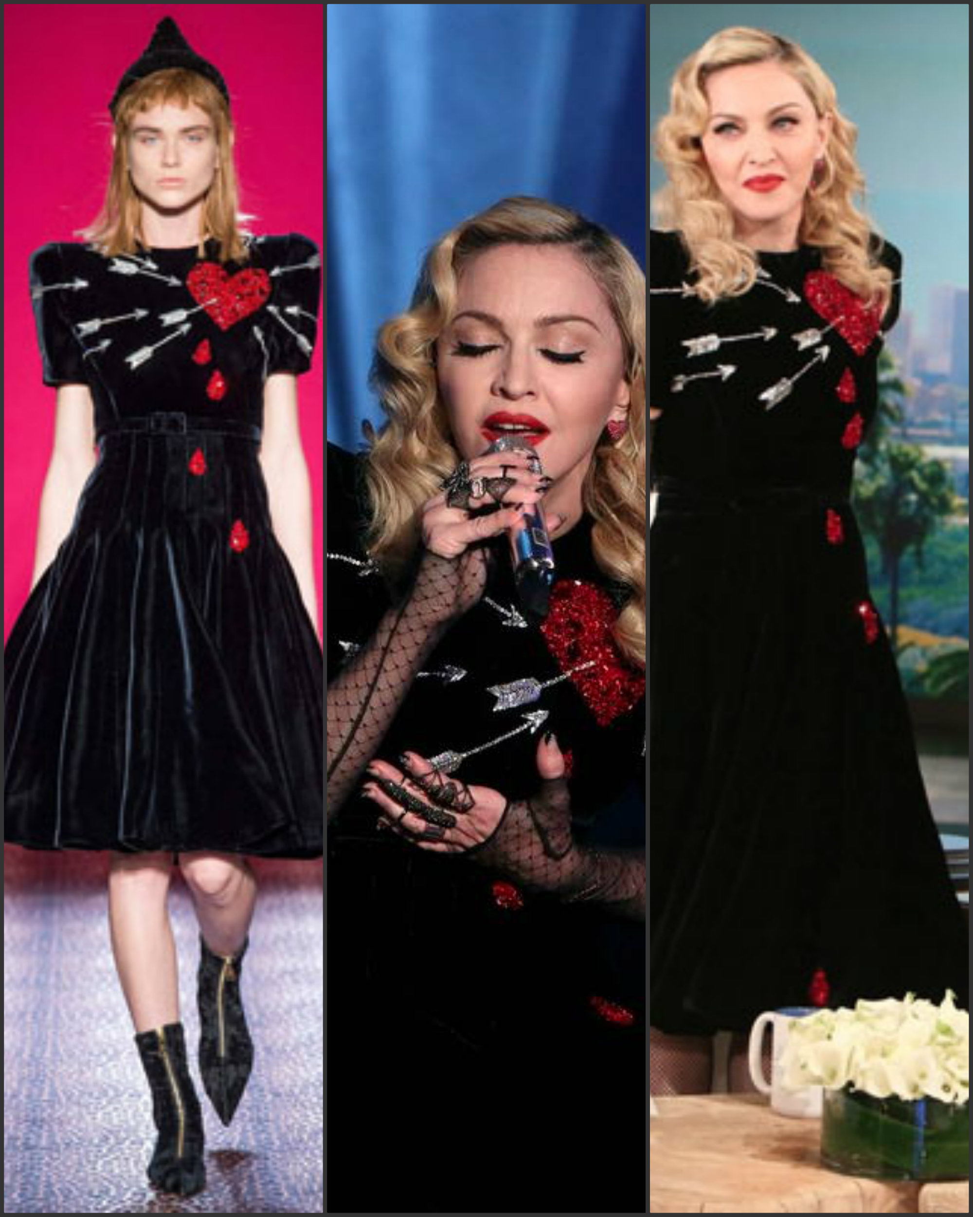 Madonna-In-Schiaparelli-Couture-at-the-ellen-Degeneres-Show