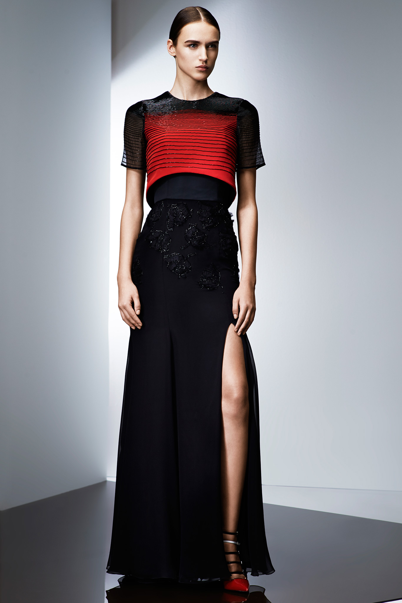 ... In Prabal Gurung at 'Mad Men' Black & Red Ball - FASHION SIZZLE
