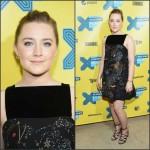"""Saoirse Ronan  in Valentino  """"Lost River"""" Premiere at SXSW in Austin"""