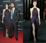Shailene Woodley In J. Mendel at  'Insurgent' Copenhagen Premiere