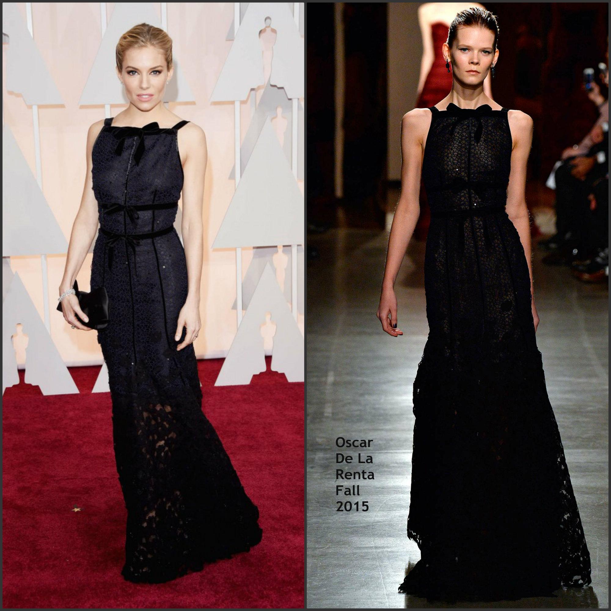 Sienna-Miller-In-Oscar-De-La-Renta-at-the-2015-Oscars