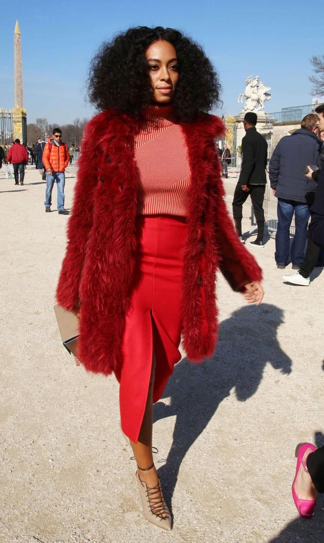 Solange-Knowles--Carven-Fashion-Show-2015-paris-fashion-week