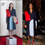Solange Knowles In Harbison  at the  Vivienne Westwood Fall 2015 Show