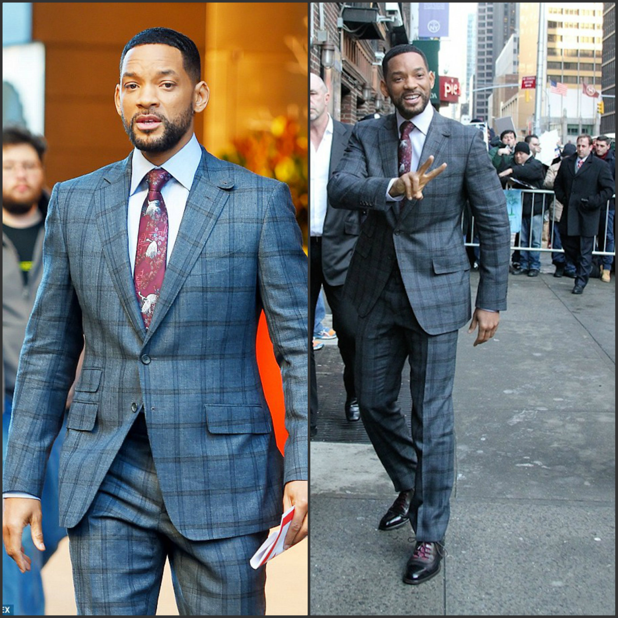 Will-Smith-in-plaid-suit-at-the-Late-Show-with-Lettterman