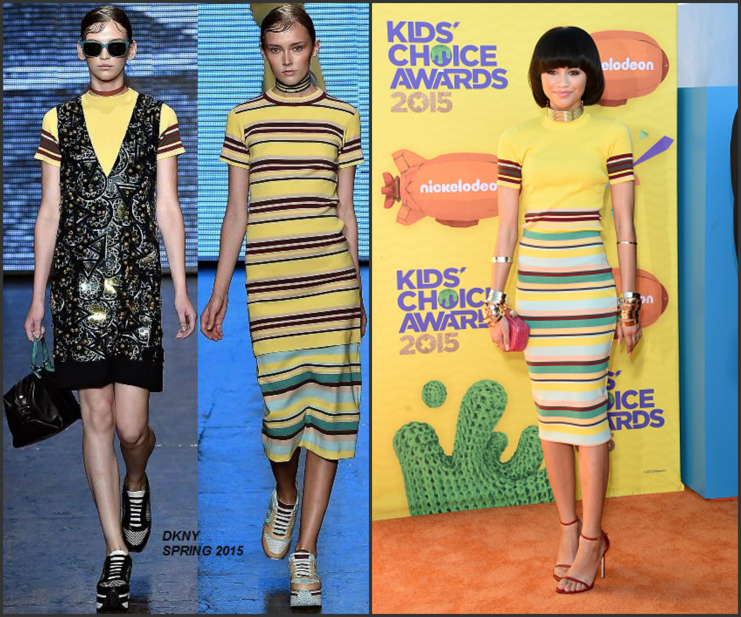 Zendaya-Coleman-in-DKNY-at-the-28th-Annual-Kids-Choice- Awards