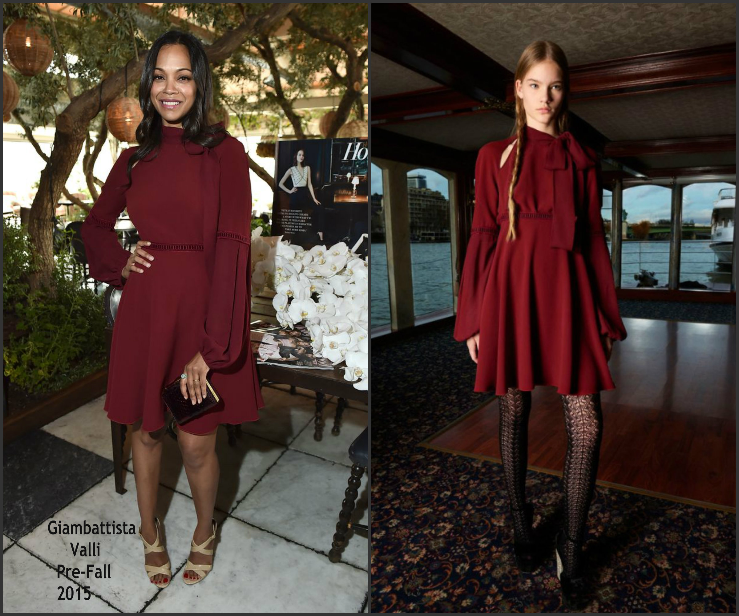 Zoe-Saldana-in-Giambattista-Valli-at-the-Hollywood-Reporters-25-Most-Powerful- Stylists-in-Hollywood-Luncheon