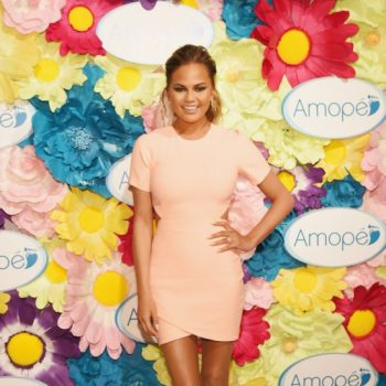 chrissy-teigen-glass-slipper-ready-pedicure-elizabeth-and-james-dress-1
