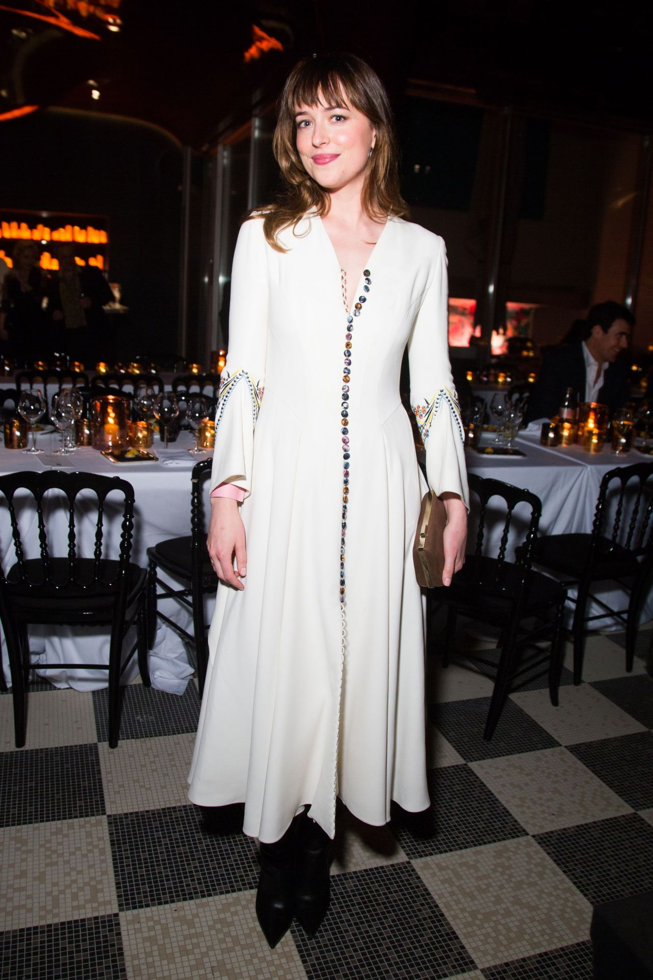 Dakota Johnson – Christian Dior Private Dinner in Paris, March 2015