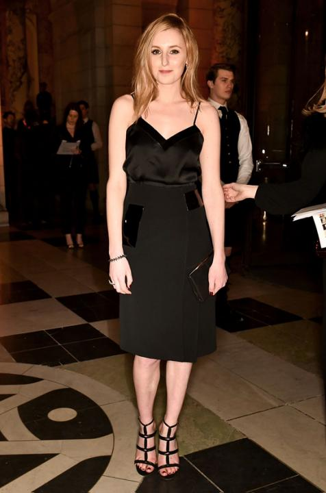 Laura-Carmichael-Alexander-McQueen-Savage-Beauty-Fashion-Dinner-red-carpet