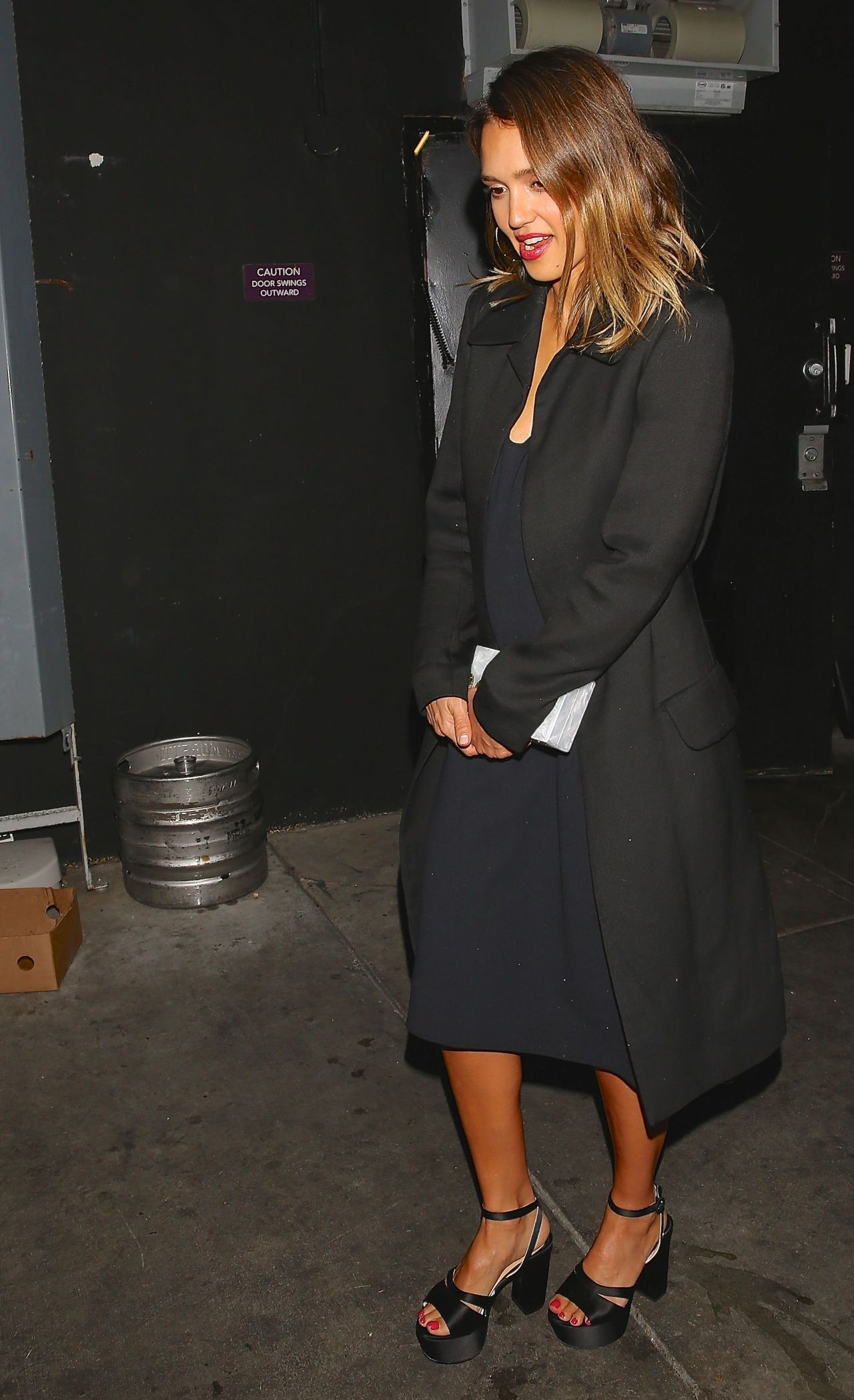 Jessica Alba Night Out Style – Los Angeles, March 2015
