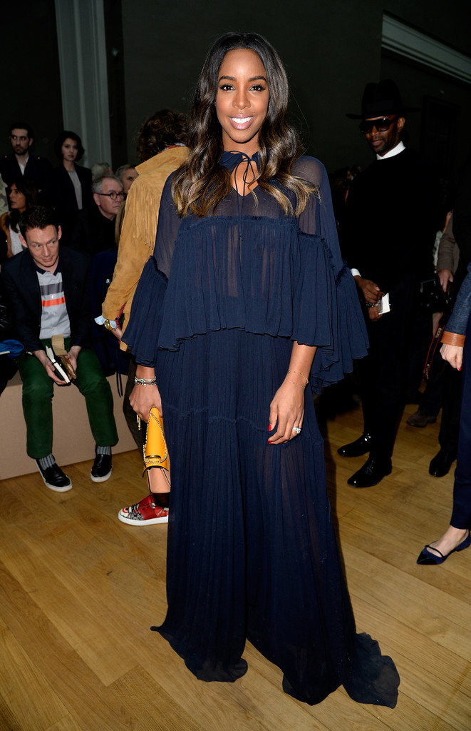 Kelly Rowland at Chole Fall 2015 Show in Paris - March 2015