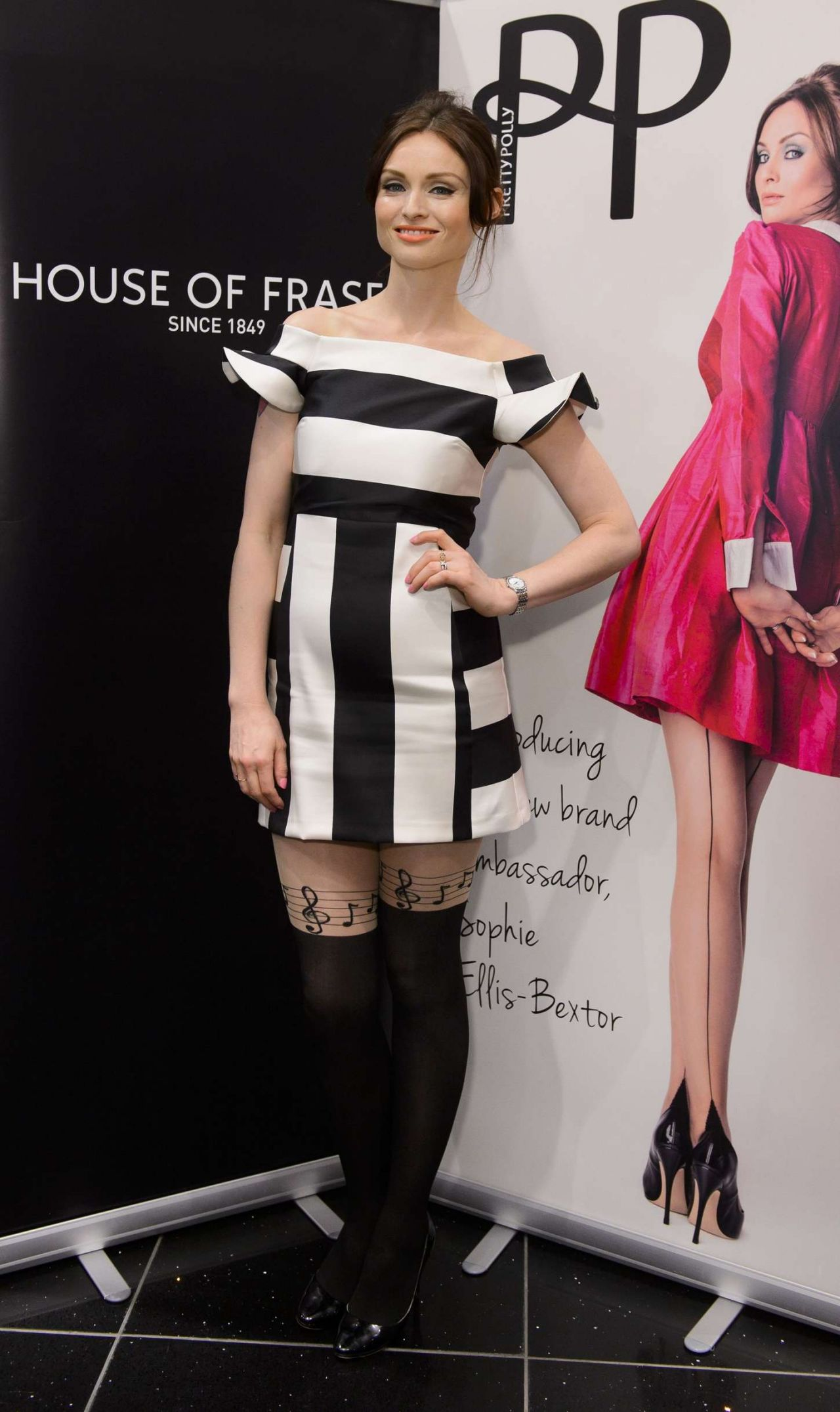Sophie Ellis Bextor – Pretty Polly Event at the House of Fraser in London, March 2015