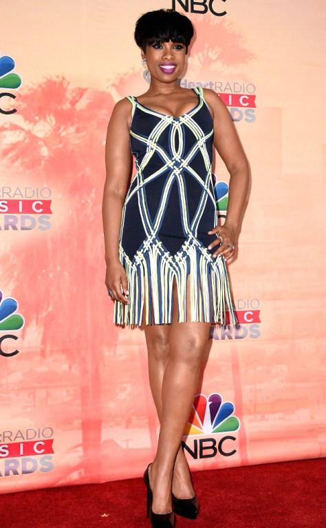 Jennifer-Hudson-in-Herve-Leger-at-2015-iHeartRadio-Music-Awards