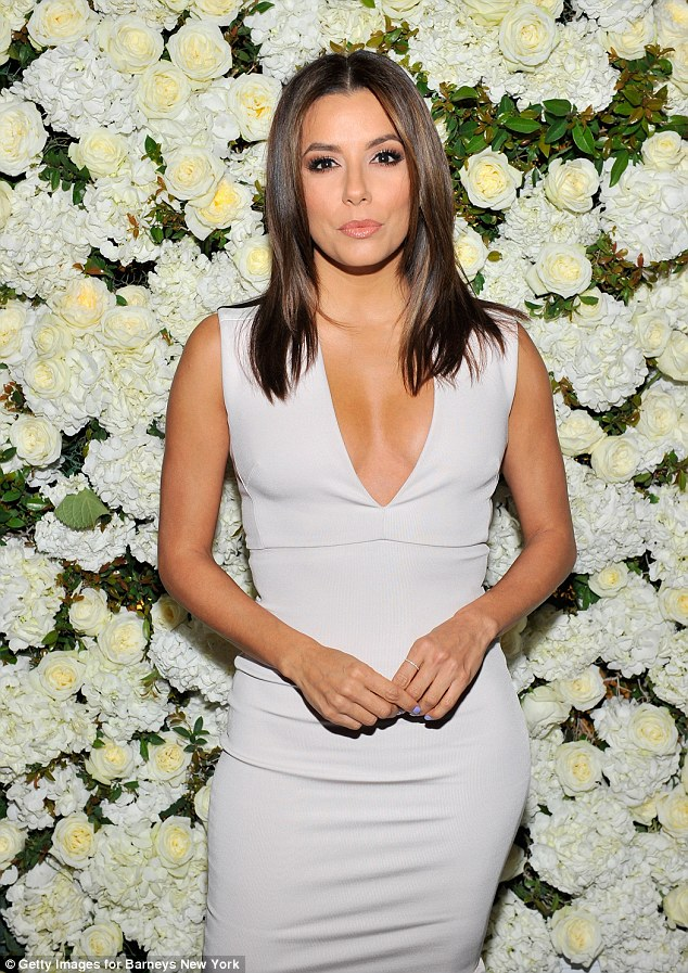 Eva-Longoria-in-Victoria-Beckham-Victoria-Beckham-Collection-launch