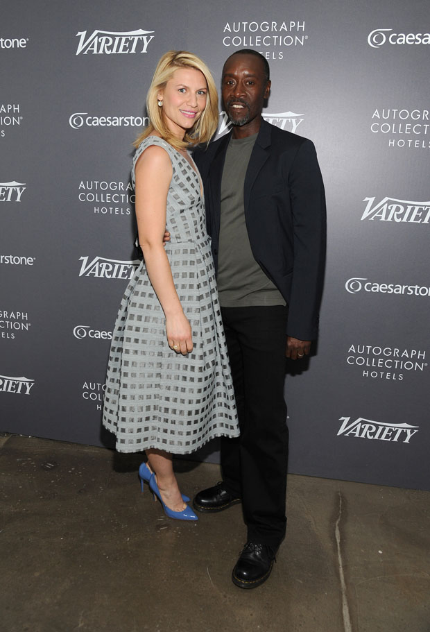 Claire Danes and Don Cheadle – Variety's Actors on Actors: Emmy Edition