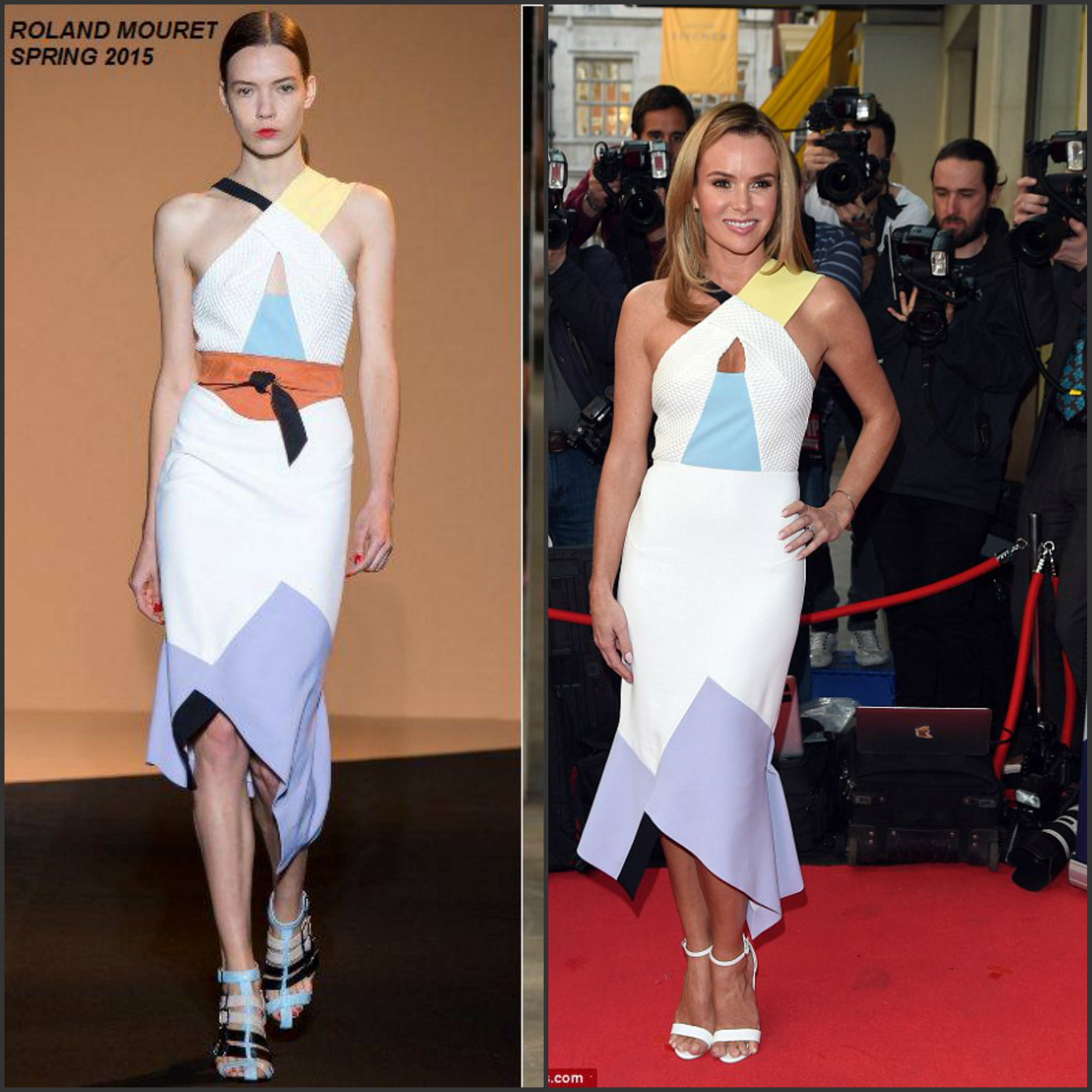 Amanda-Holden-in-Roland-Mouret- Britians-Got-Talent-London-Audition