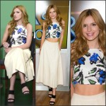 Bella Thorne In Milly & Alice + Olivia  at Fox & Friends