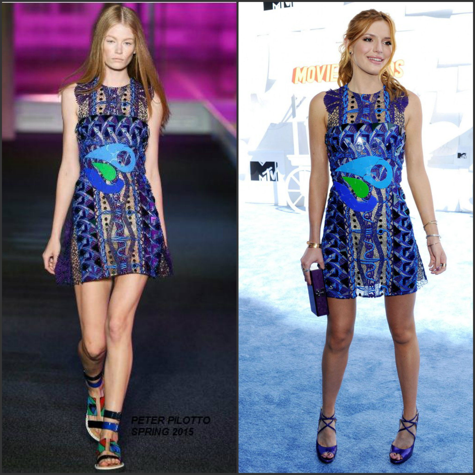 Bella-Thorne-in-Peter-Pilotto-at-the-2015-MTV-Movie-Awards