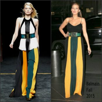 Blake-Lively-in-Balmain-Out-in-New-York-City