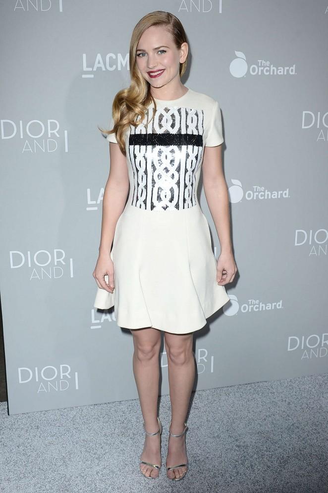 Britt-Robertson--Orchard-Premiere-of-Dior-