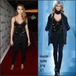 Cara Delevingne In Alexandre Vauthier Couture  at the The CinemaCon Big Screen Achievement Awards
