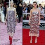 Carey Mulligan in Christian Dior Couture at the 'Far From The Madding Crowd' London Premiere