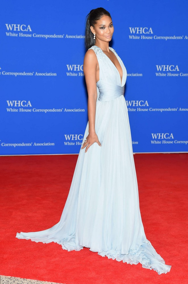Chanel-Iman--in-Zuhair-Murad-2015-White-House-Correspondents-Association-Dinner--