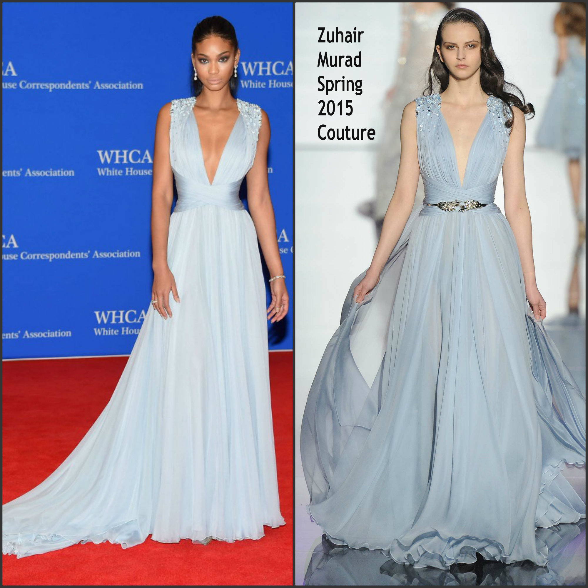 Chanel-Iman-in-Zuhair-Murad-2015-White-House-Correspondents-Association-Dinner