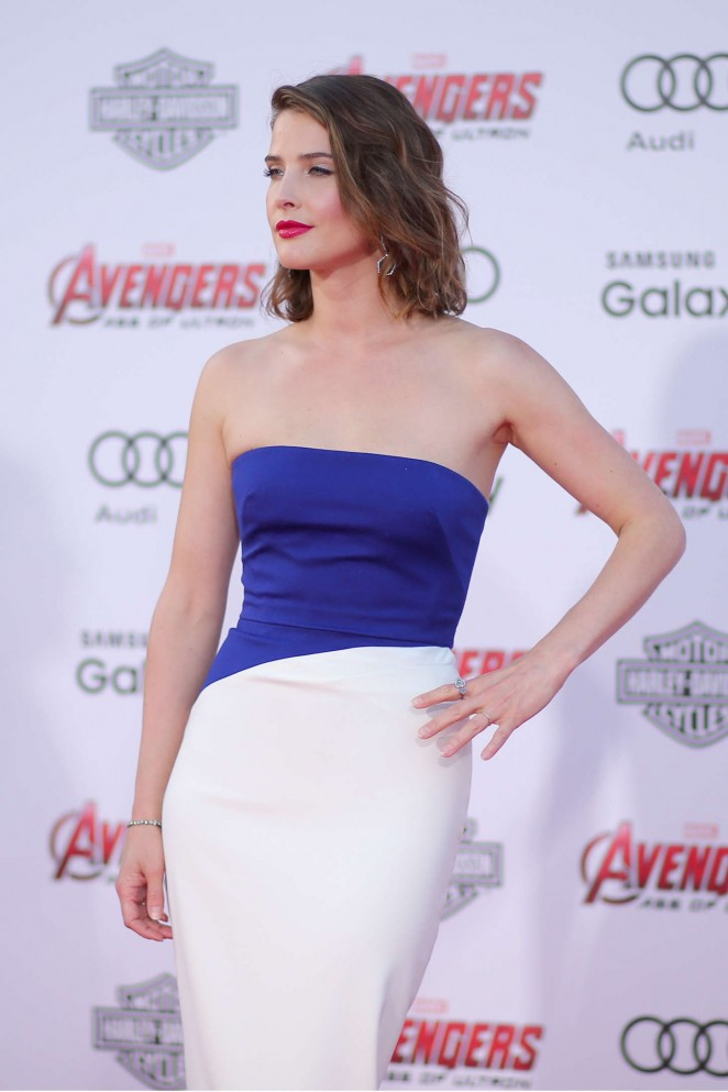 Cobie-Smulders--Avengers-Age-Of-Ultron-Premiere-