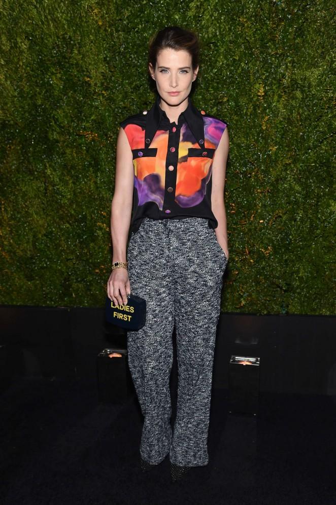 Cobie-Smulders--Chanel-Dinner-2015