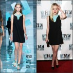 Dakota Fanning In Versace  at 'Every Secret Thing' New York Film Critic Series Premiere