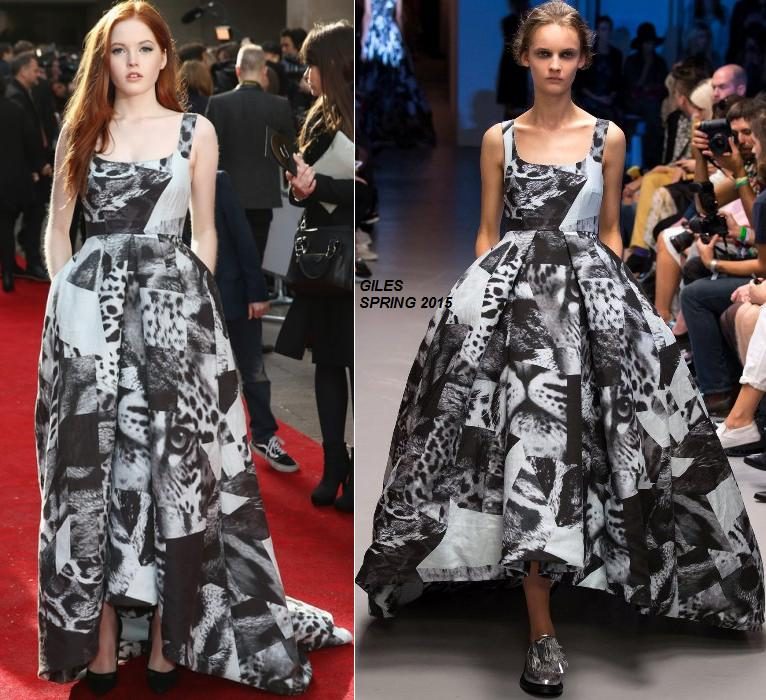 ellie-bamber-in-Giles- at-the- 2015-Jameson-empire-awards-2015-in-london