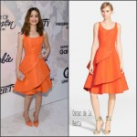 Emmy Rossum In  Oscar de la Renta – Variety's Power Of Women New York