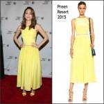 Emmy Rossum  in Preen – Tribeca Talks: Mr. Robot in New York