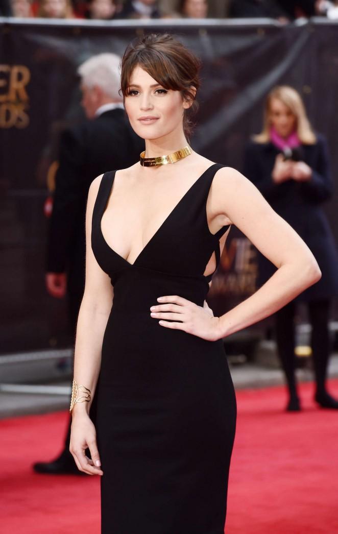 Gemma-Arterton---2015-Olivier-Awards-