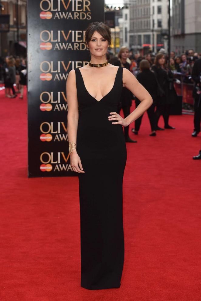 Gemma-Arterton---2015-Olivier-Awards--