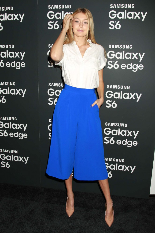 Gigi-Hadid--Samsung-Galaxy-S6-and-S6-Edge-Launch