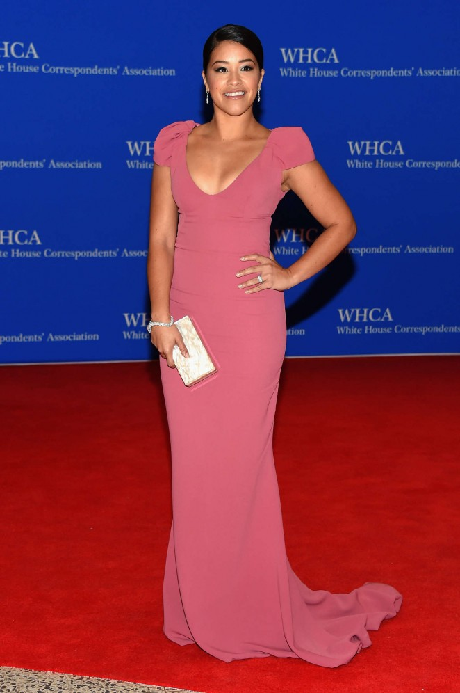 Gina-Rodriguez--in- Gustavo -Cadile -2015-White-House-Correspondents-Association-Dinner--