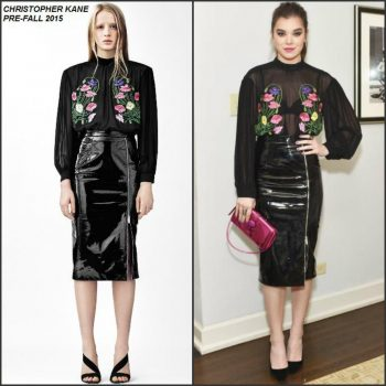 Hailee-Steinfeld-in-Christopher-Kane-at-the-Christopher-Kane-x-mytheresa.com-Dinner