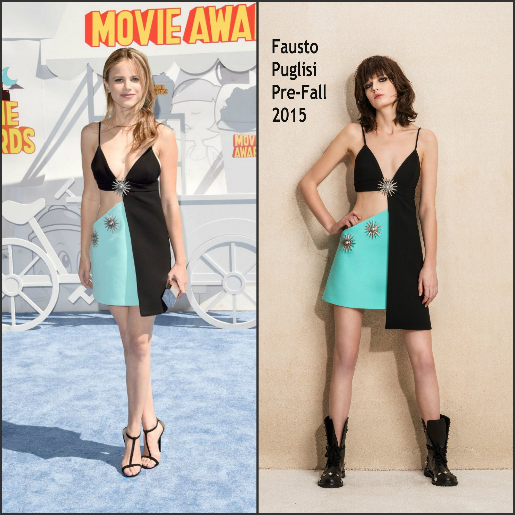 Halston-Sage-in-Fausto-Puglisi-2015-MTV-Movie-Awards