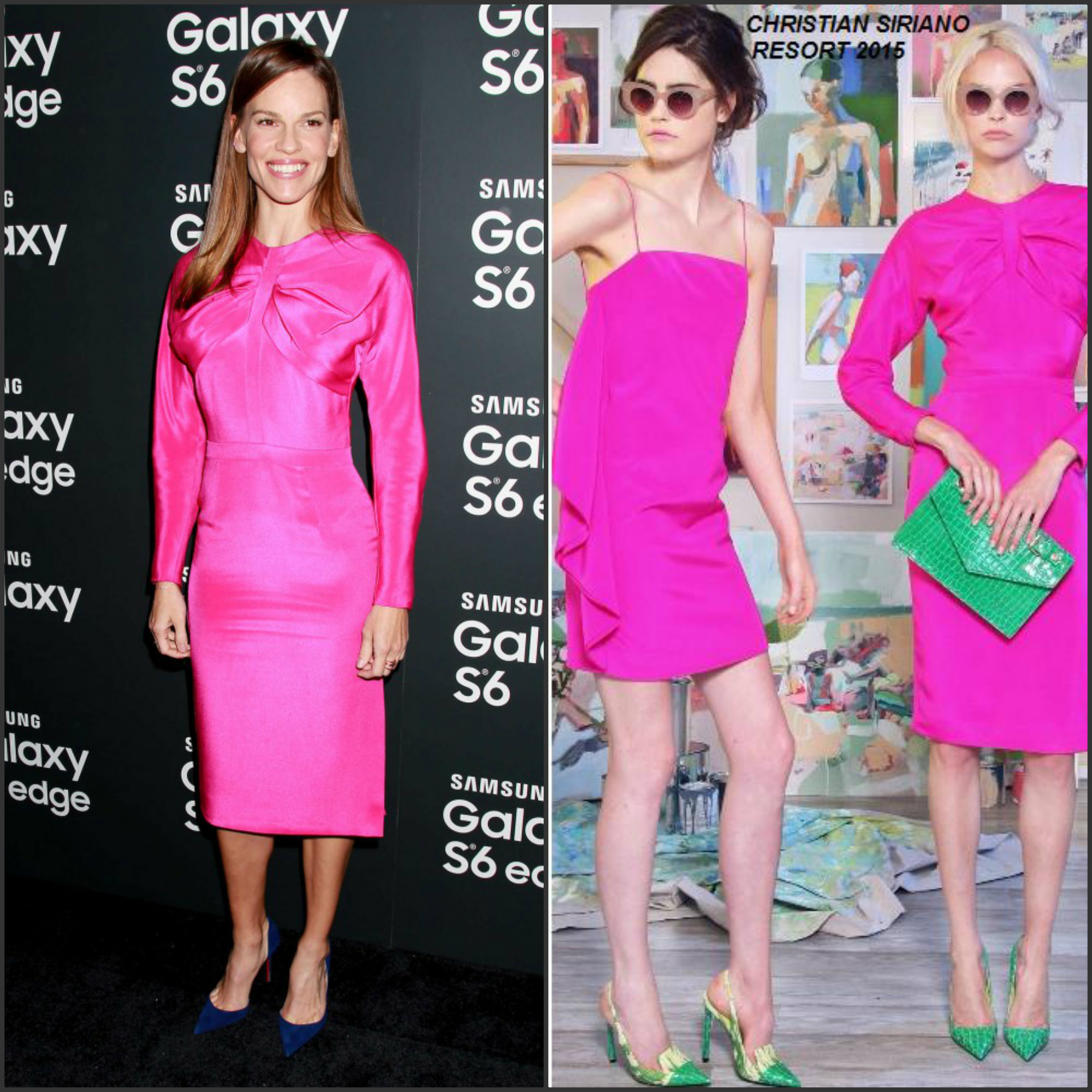 Hilary-Swank-in-Christian-Siriano-at-the-SAMSUNG-Galaxy-s6-Edge-Launch