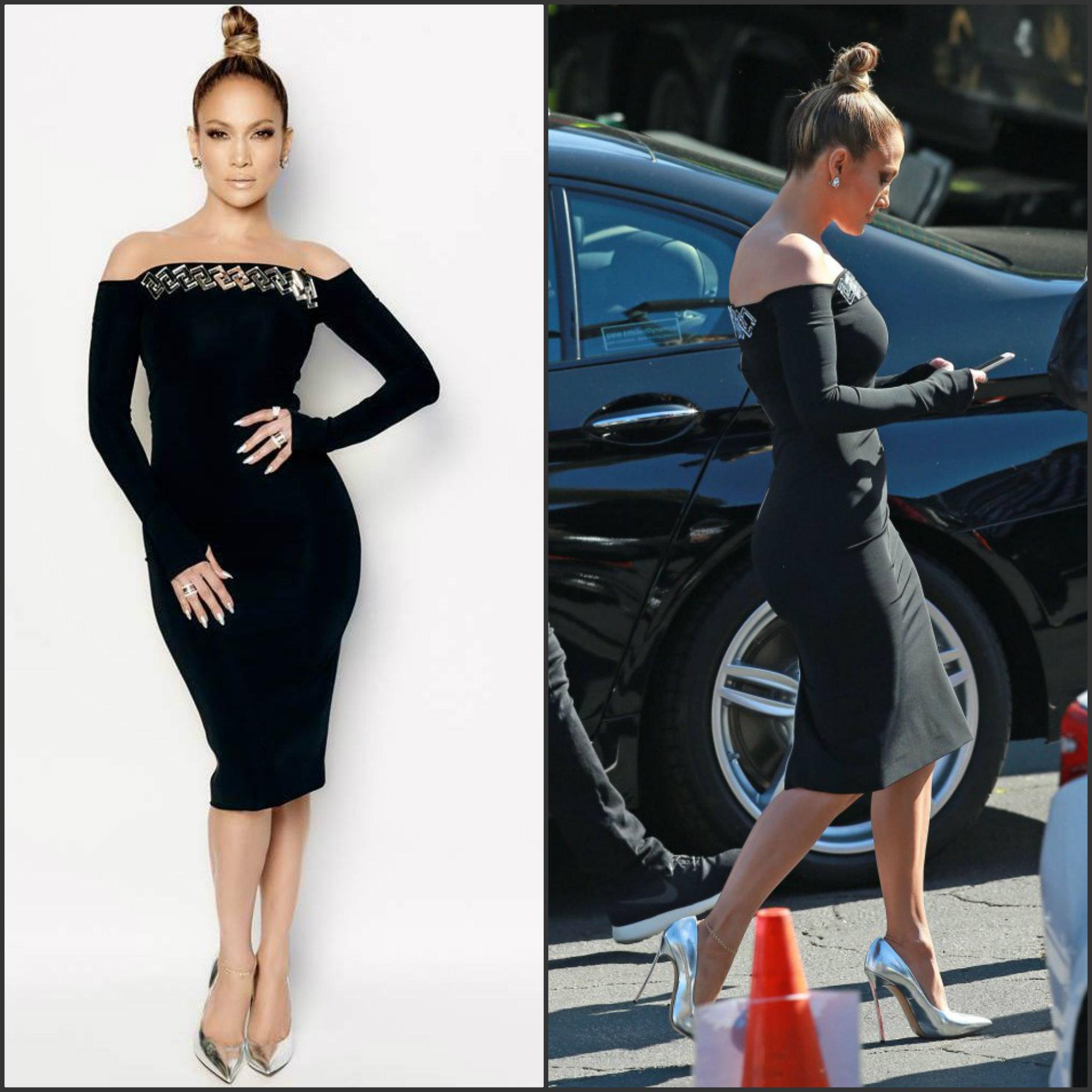 Jennifer Lopez In David Koma On The 39 American Idol 39 Xiv Show Fashionsizzle