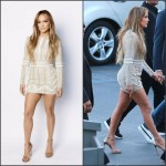 Jennifer Lopez in Nicolas Jebran on the American Idol Season XIV Show