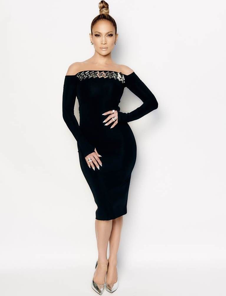 Jennifer Lopez in David Koma on the 'American Idol' XIV ...