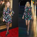 Juno Temple In Saint Laurent at  'Far From The Madding Crowd' New York Screening