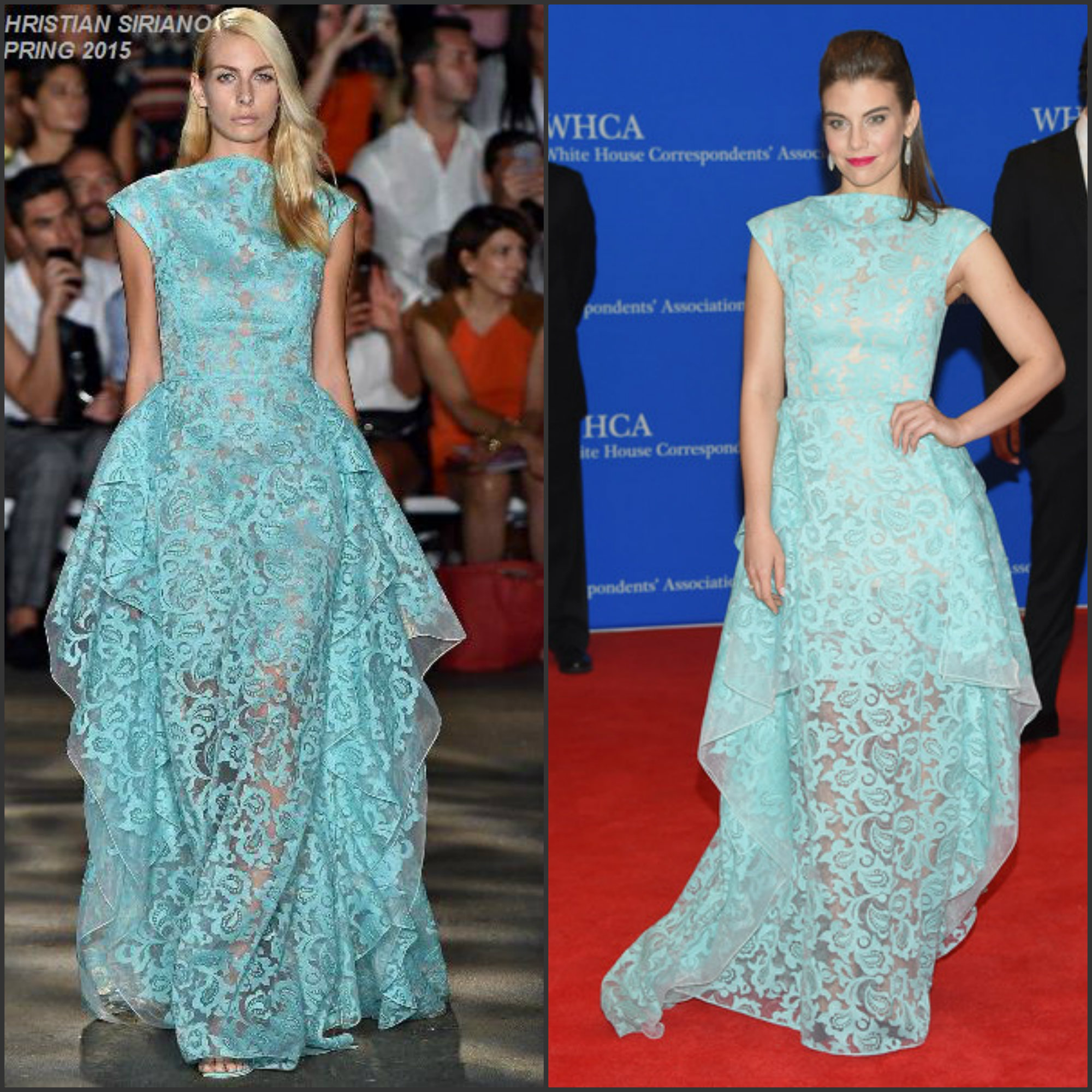 Lauren-Cohan-in-Christian-Siriano-at-the-101st-White-House-Correspondents-Association-Dinner
