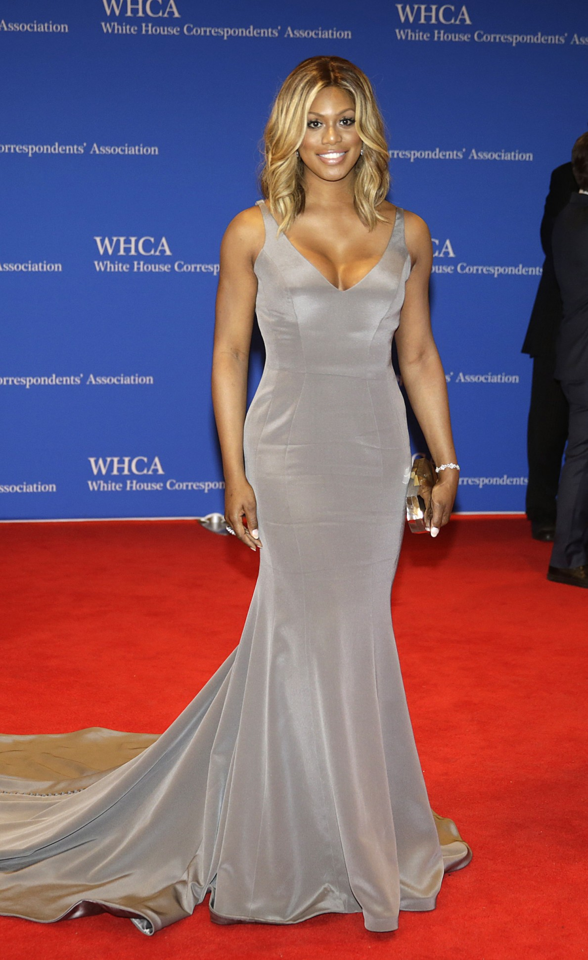 laverne-cox-ines-di-santo-2015-white-house-correspondents-association-dinner