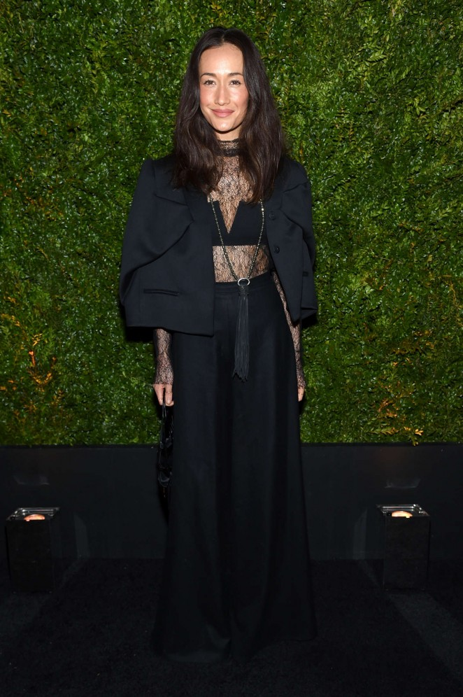 Maggie-Q--Chanel-Dinner-2015--