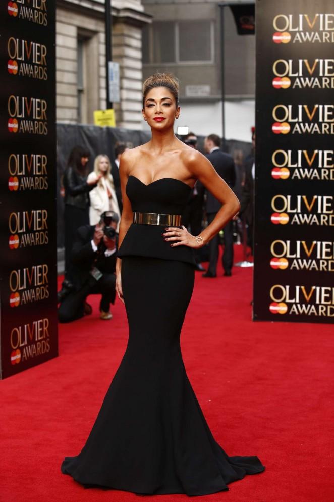 Nicole-Scherzinger--2015-Olivier-Awards--