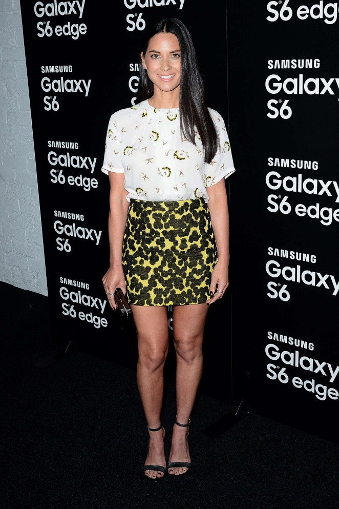 Olivia-Munn-in-A-L-C-and-Barbara-Bui-at-the-Samsung-Galaxy-S6-Launch
